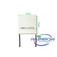 TEC1-12715 15A 137W Thermoelectric Cooler Peltier 40*40*3.3mm TEC1-12715
