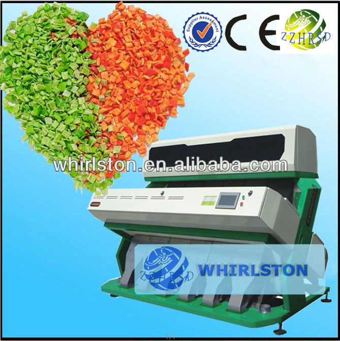 390 Strongly professional color sorter for Dehydrated fruit supplier