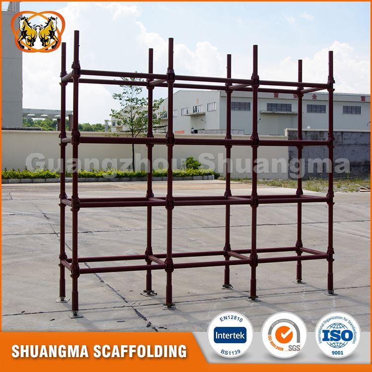 Best selling steel cuplock scaffolding standards