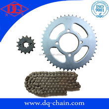 South America YBR125 Chain Sprocket Kits for motorcycle transmission kits