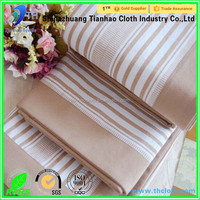 classical style stripe cottn yarn dyed bedding fabric for old