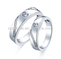 hot sale ! jewelry fashion ring vners white gold ring jewelry wedding band ring