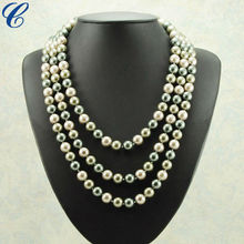 New design pearl necklace, chain necklace, fine necklace