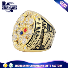 World series replica championship football ring zinc alloy value championship ring