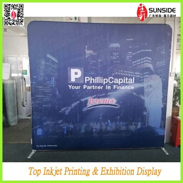 High quality advertising fabric pop up <strong>stand</strong>,trade show display