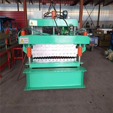 Roof Use Double Layer Corrugated Profile Steel Roofing Sheet Roll Forming Machine
