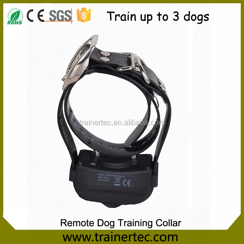 Train to 3 Dogs remote dog training collar Electric shock Trainer