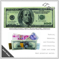 1070D Tyvek Wallet creative purse waterproof Paper Wallet printed wallet