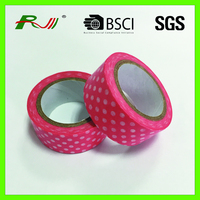 Colorful printing DIY Japanese adhesive paper tape for masking