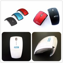 Custom Logo Printing ARC Foldable Personalized Wireless Mouse