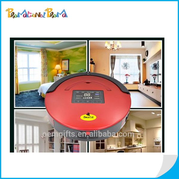 2016 New Smart Automatic Robot Vacuum Cleaner With LED Screen