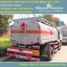 chengli 4X2 high quality fuel tanker truck for sale with a good price