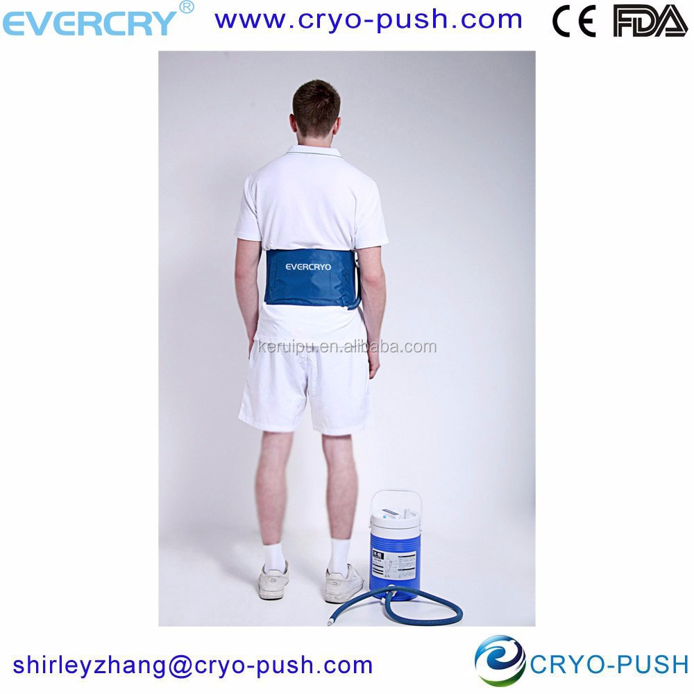 adjustable sports cold therapeutic pads ice burn treatment for muscular back pain, soft tissue injury