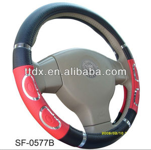 PVC Material Steering Wheel Cover Classic Design All Size