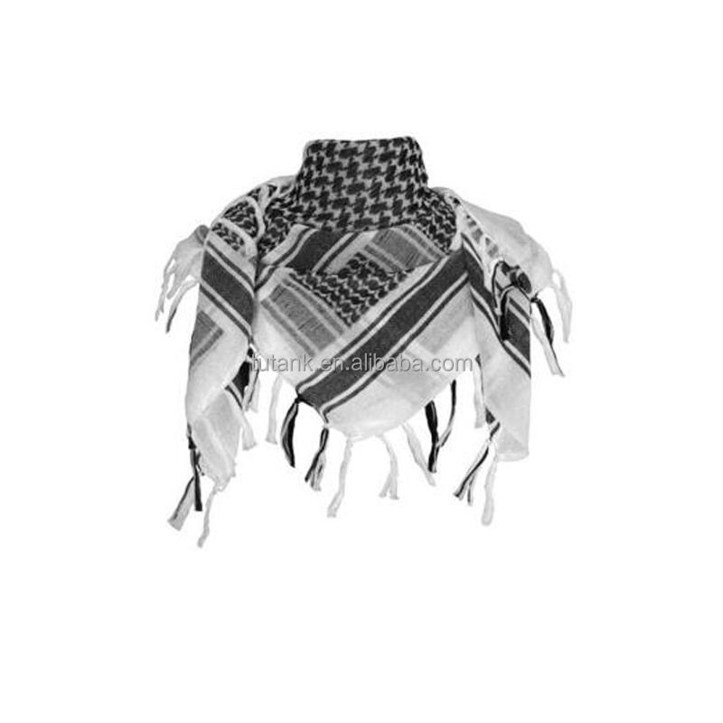 100% Cotton Military Tactical Desert Keffiyeh Scarf Wrap