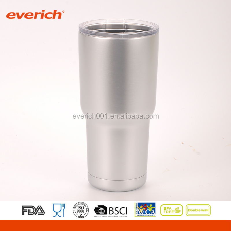 Everich 20oz 30oz Insulated Double Wall Stainless Cold Steel Tumbler Cups