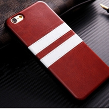 New Arrival Luxury Leather Stripe Pattern Phone Case for iphone 5s Ultra Thin TPU Silicon case for iphone 5 SE phone Accessories