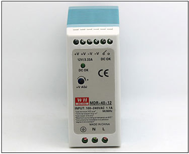 New & Original 20W single output DIN Rail 24v 1.5a switching power supply