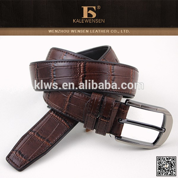 2015 new product Hot sale men's genuine cowhide mens belt