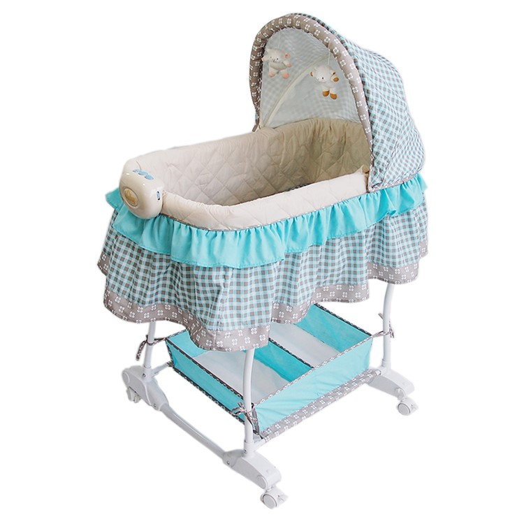 High quanlity 4 wheels folding baby bassinet accessories