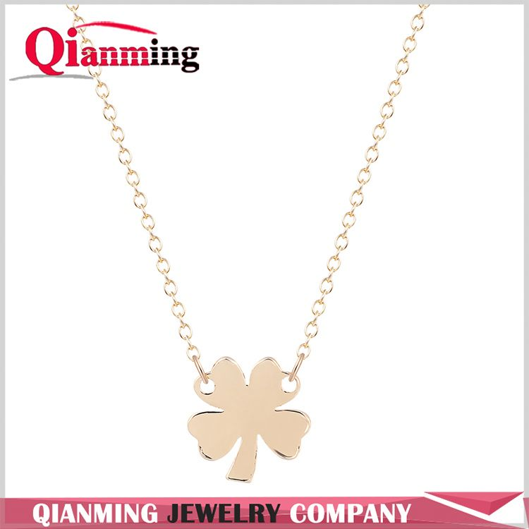 Factory Sale custom design fashion copper alloy necklace China sale