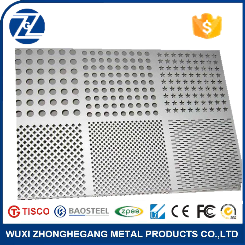 low price 304 316 fence perforated <strong>stainless</strong> steel sheet
