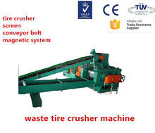 Semi-auto waste tyre recycling machine of rubber rim cutter and waste tire recycling machine supplier