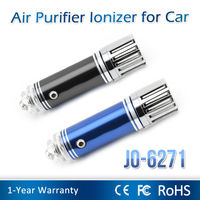 2014 Newest Car Fresh Ionizer Air Purifier JO-6271 (only 10s to remove smoke)