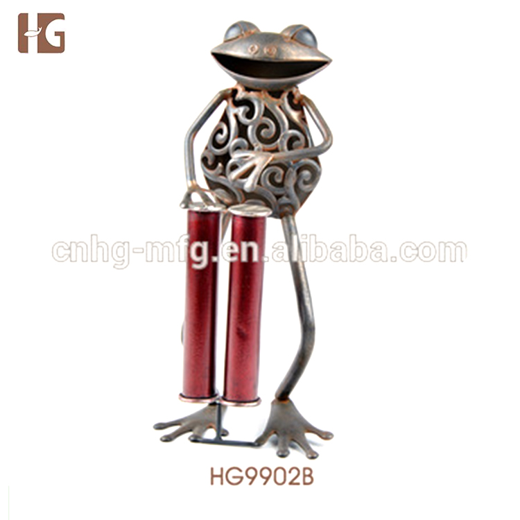 Wholesale Modern Home Decor Metal Frog Shaped Items