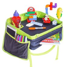 China Supplier Premium Kids Travel Tray For Car Seat Lap Tray Baby Play Station