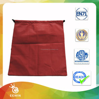 Promotion Simple Style Non woven Cinch Drawstring Bag
