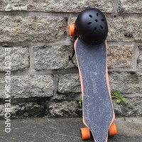 New trend 4 wheels hub brushless motor drive electronic longboard 35km/h top speed