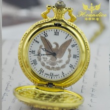 Cheap antique gold eagle pocket watch