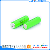High Capacity 18650 rechargable 3.7v battery for Strong vaping, Ecig mod box INR18650MJ1