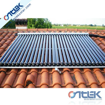 Solar water heater collector, 2016 hot sale solar water heater