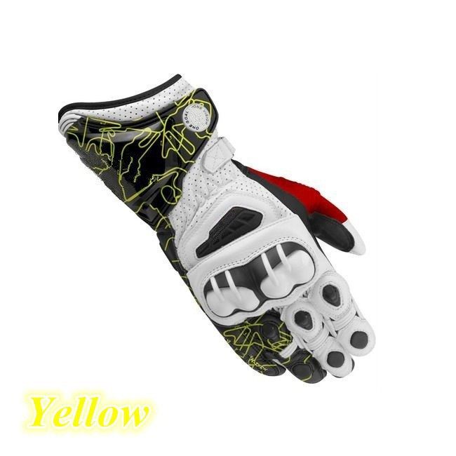 Full finger outdoor custom made sports motorcycle racing gloves