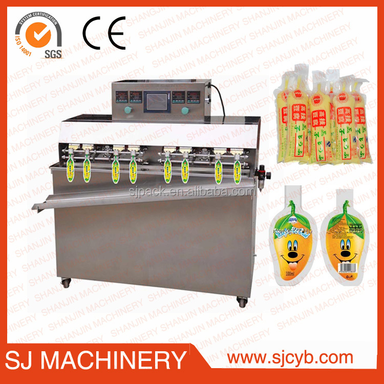 Inflation bag filling machine for Alcoholic beverages