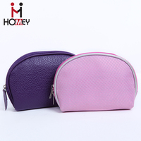 Cute Small Cosmetic Black Makeup Pouch Bags
