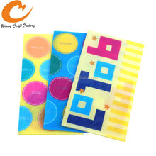 A4 PP folder, l shaped file folder