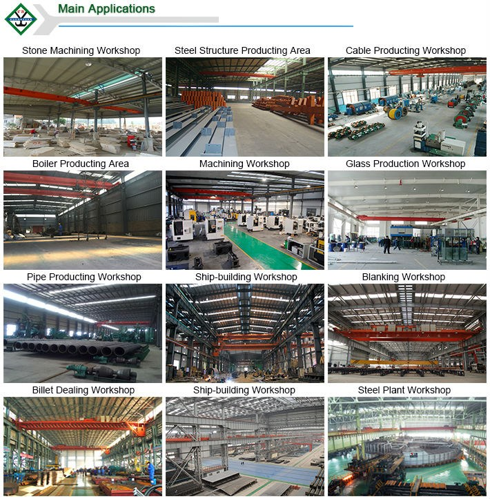 Top 10 crane manufactures traveling double girder overhead crane