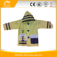 Wholesale Children raincoat kids cute cartoon raincoat Children clothing