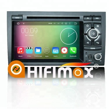 HIFIMAX Android 6.0 car audio For Audi A4 car navi 32GB OCTA-core DVD