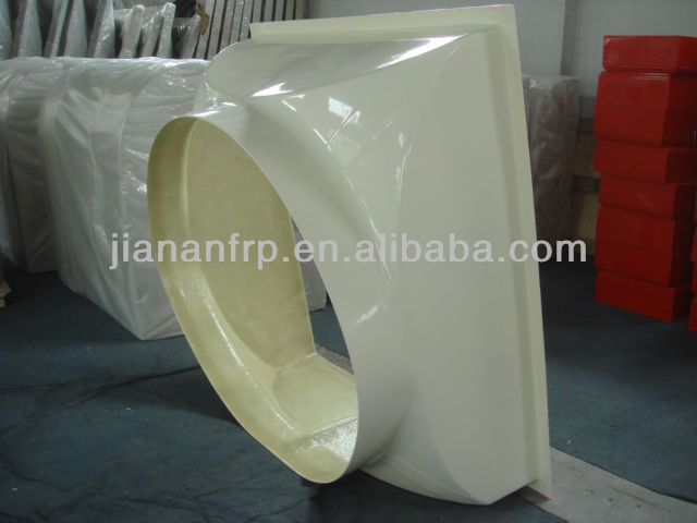 RTM process fiberglass factory for fan cover