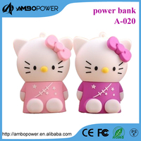 Cute power bank for hello kitty power bank