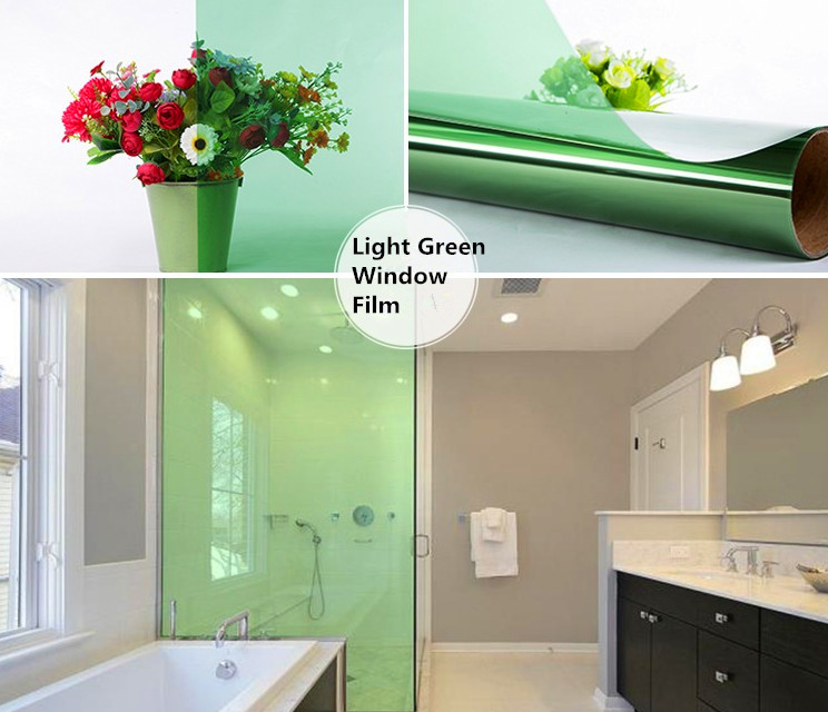 Royal Glory Adhesive Green Safty Explosion-proof Solar Window Film for Building