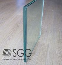 6mm + 6 mm laminated glass custom glass frameless folding glass doors