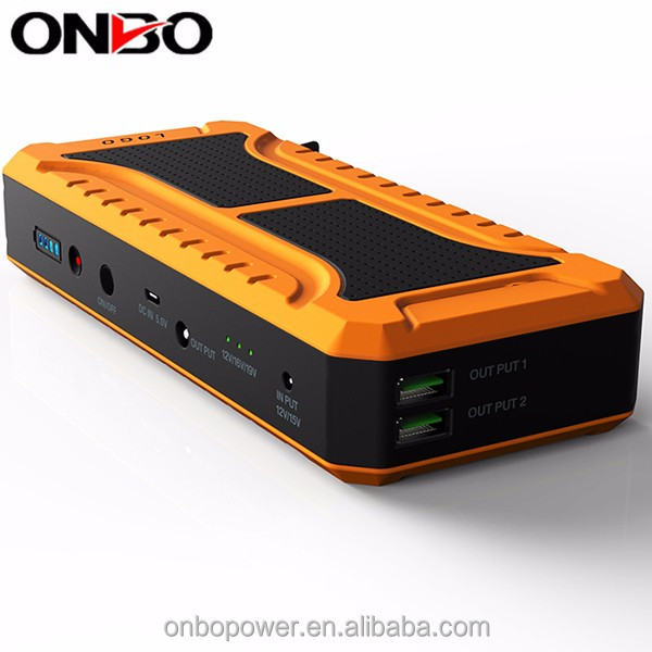 ONBO alarm systems Intelligent Boster cable clamp Emergency car charger car jumping starter