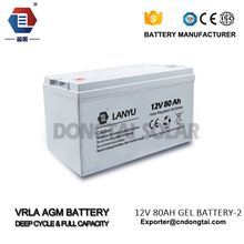 best auto / car battery with good startup ability/LANYU80ZYA254