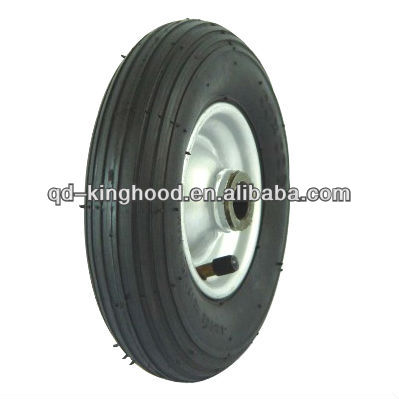 Small pneumatic rubber tyre for Push Cart Wheels