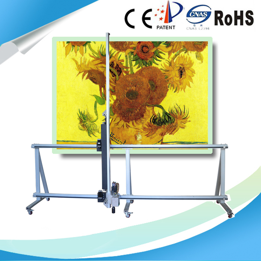 China new technology mural wall 3d photo printer